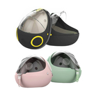 JohoE嚴選 二代原子太空梭多用途舒適背包/貓窩/寵物床(附可拆洗涼感冷凝墊)(MS9AE3GR)