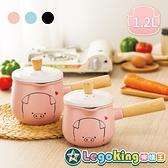 【樂購王】嘿豬豬 台灣獨家代理《木柄系列 牛奶鍋 1.2L》急冷急熱 乾燒不裂【B0735】