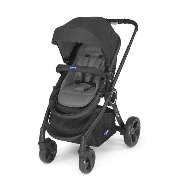 Chicco Urban Plus 個性化雙向手推車-黑 送 AUTO-FIX手提汽座