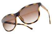 EMPORIO ARMANI 太陽眼鏡 EA4112 502613 (琥珀棕-漸層棕鏡片) 時尚水滴款 # 金橘眼鏡
