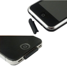 iPhone 4/3/G3/4GS、iPod Touch專用USB防塵塞--黑色『免運優惠』