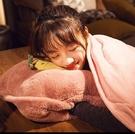床頭靠枕 抱枕被子兩用北歐風格靠墊客廳臥室床上沙發靠枕車內午睡神器TW【快速出貨八折鉅惠】