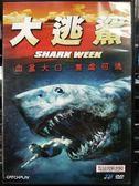 影音專賣店-P08-479-正版DVD-電影【大逃鯊】-血盆大口,無處可逃