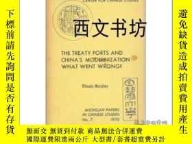 二手書博民逛書店【罕見】1970年出版平裝The Treaty Ports an