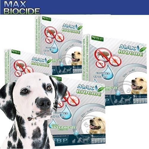 【培菓幸福寵物專營店】西班牙《NBP》天然犬用驅蝨滴劑 (5劑入)無藥劑殘留