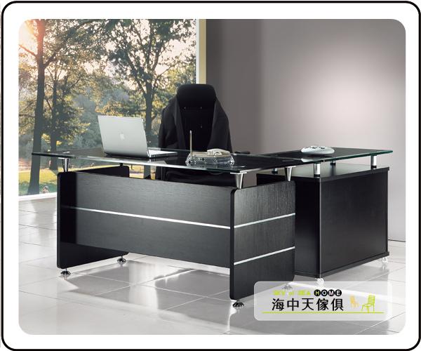 {{ 海中天休閒傢俱廣場 }} G-35 摩登時尚 商業OA 辦公桌系列 601-1 CP-2655 L型主管桌(全組)(不可拆賣)