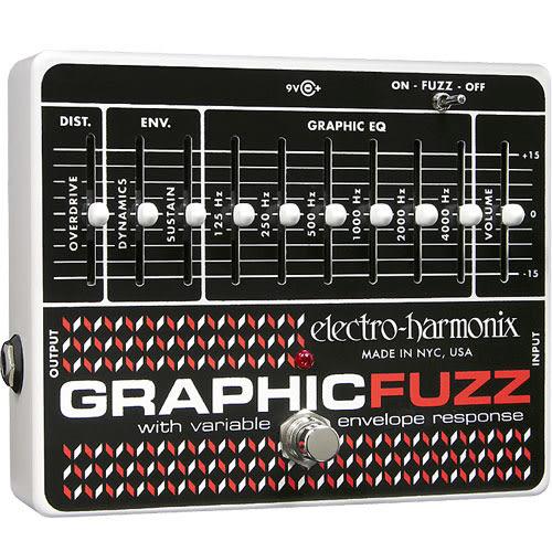 【敦煌樂器】Electro Harmonix Graphic Fuzz 效果器