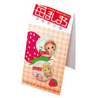 草莓棉花糖 胸章(2)