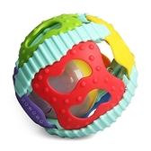 零歲寶寶健力球 聲光球 鈴鐺滾滾球 兒童觸覺訓練手抓球 益智玩具球 0632