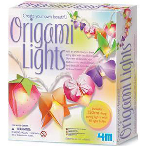 【4M】美勞創作系列-閃亮摺紙燈 Creat Your Own Beautiful Origami Lights 00-02761