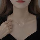 項鍊 925純銀項鍊女鎖骨鍊2021年新款簡約ins風配飾項鍊輕奢小眾設計感 晶彩 99免運