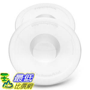 [104美國直購] KitchenAid 攪拌機配件 KBC90N 2-Pack Bowl Covers 適K45SS, KSM75, KSM95, KSM150PS