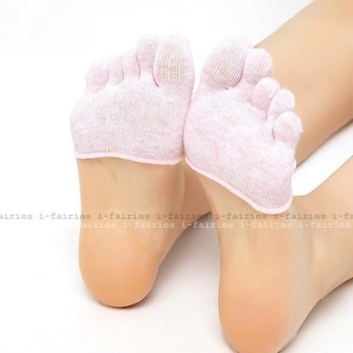 現貨+快速★五指襪淺口隱形半掌襪套短船襪高跟鞋腳趾襪子露指★ifairies【29963】