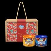 美國藍鑽杏仁 杏福金鼠禮盒 (蜂蜜鹽烤+鹽烤) -150g/罐-波比元氣