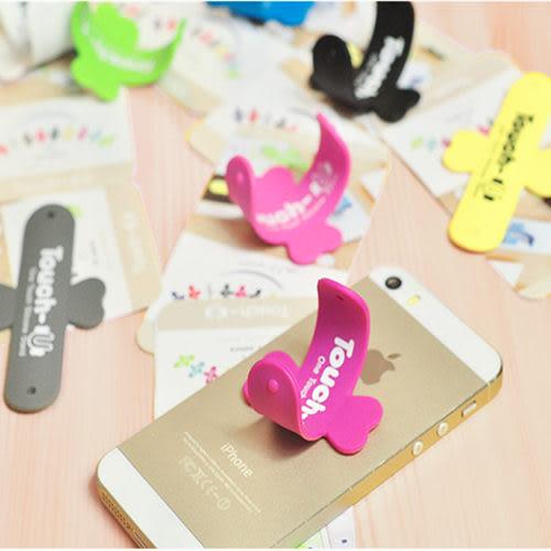 【Cheny Shop】實用U型彈力式手機支撐架 支架 蝶型支架 婚禮小物 贈品 禮物