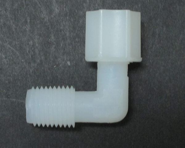 水電接頭.淨水器接頭.塑膠接頭4044,2分管2分牙L型接頭,15元1個