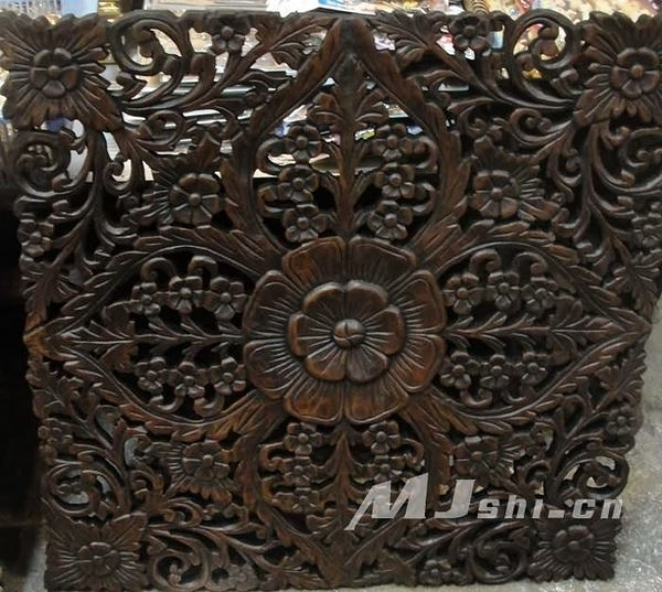 風格壁飾裝飾 進口柚木傢俱 雕花