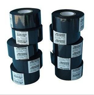 30MM*122M黑色/色帶 聯騰DY-8手動小型便攜式列印日期手持鋼印色帶直熱式