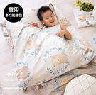 舖棉兩用加大型兒童睡袋【 DR311 好多好多熊 】100%精梳純棉 品牌童趣 OLIVIA 台灣製