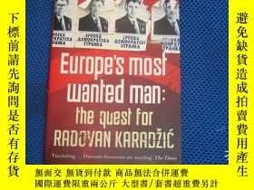 二手書博民逛書店Europe s罕見Most Wanted Man: The Q