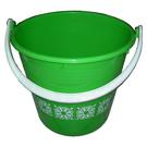 塑膠大花水桶直徑30x28cm高