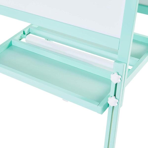 Teamson 梵谷雙面磁性畫架-薄荷綠(附一組紙捲)
