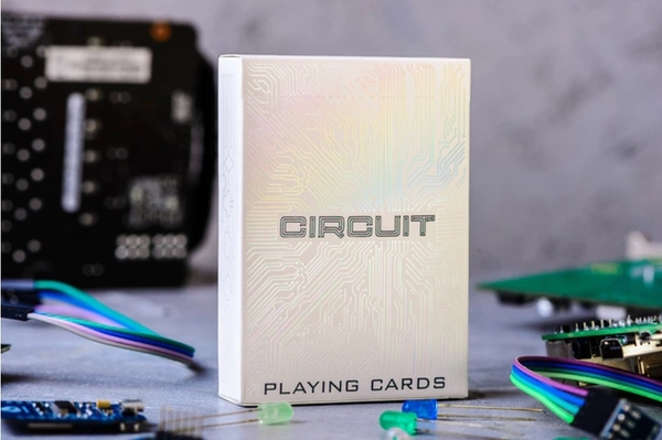 【USPCC撲克】Circuit Rainbow White editions S103049697