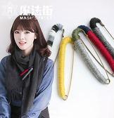 彩色毛線纏繞韓版復古日韓胸針胸花別針絲巾開衫披肩扣女 魔法街