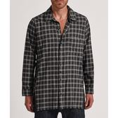 OneTeaspoon 襯衫 UPSIZED CHECK ZIP SHIRT-灰(男)
