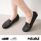 樂福鞋日雜皮質簡約平底休閒包鞋 (MIT)