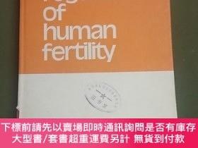 二手書博民逛書店regulation罕見of human fertilityY12348 E.Diczfalusy Scrip