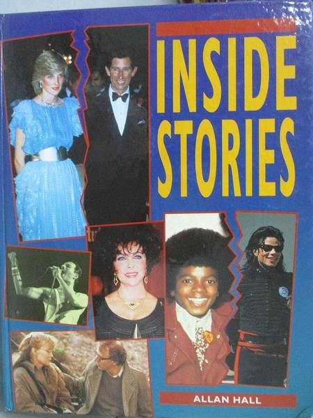 【書寶二手書T6/原文書_E5R】INSIDE STORIES_BLITZ EDITIONS