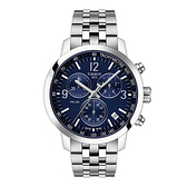 ◆TISSOT◆PRC200 系列 三眼計時石英錶T114.417.11.047.00藍面