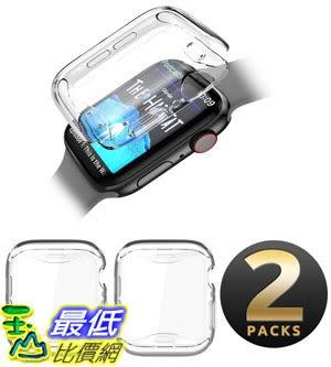 保護套 SUPCASE Apple Watch 4 Case 44mm 2018, [Built-in Screen Protector] Soft TPU Protector