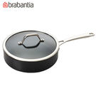 荷蘭BRABANTIA Tritanium鈦系列24公分單把平底鍋/湯鍋