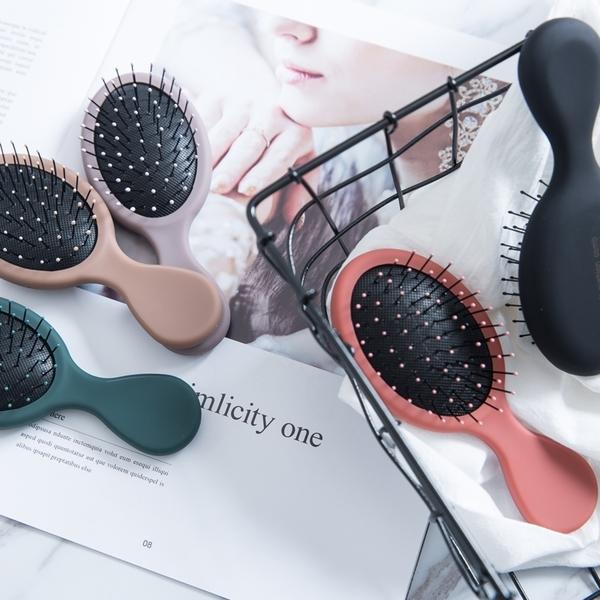 迷你氣墊梳子便攜按摩干濕兩用mini化妝防靜電