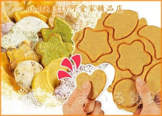 asdfkitty可愛家☆日本Arnest 仙貝不沾鍋-做煎餅.脆麻糬.餅乾-材料簡單成功率高-日本正版