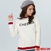 BOBSON 女款珍珠毛刺繡上衣(38075-81)