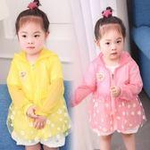 女童防曬衣 夏季新款空調外套 LR2041【Pink 中大尺碼】