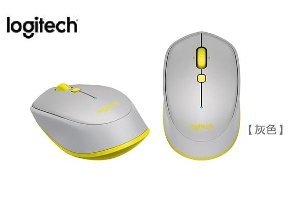 [富廉網] 羅技 Logitech M337 藍牙滑鼠 (灰)