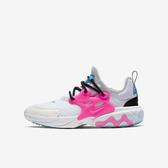 Nike React Presto GS [BQ4002-101] 大童鞋 慢跑 運動 休閒 舒適 輕量 透氣 白粉