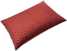 SEIDO【日本代購】蕎麥殼枕 高度調節 日式花紋帶罩 日本製 - 酒紅色