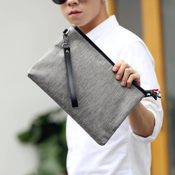 韓版男手拿包 手機零錢包《印象精品》y1141
