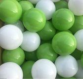台灣製~蘋果綠色遊戲彩球~漂亮草原色系海洋球~100球賣場~(球屋、球池專用波波球)~幼之圓