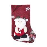 紅白蔥聖誕襪吊飾 混款