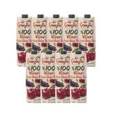 (組)土耳其meysu 100%酸櫻桃葡萄汁1L 9入組