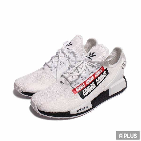 ADIDAS 男 慢跑鞋 NMD_R1.V2 白黑紅-H02537