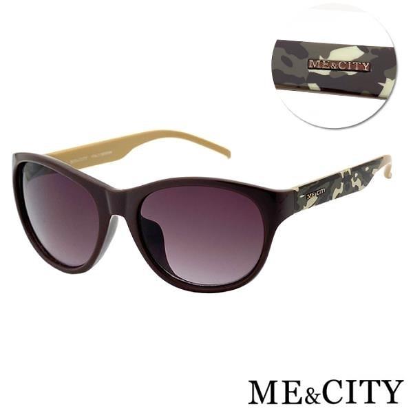 【南紡購物中心】【SUNS】ME&CITY 時尚義式多彩紋樣太陽眼鏡 抗UV400 (ME 120005 J424)