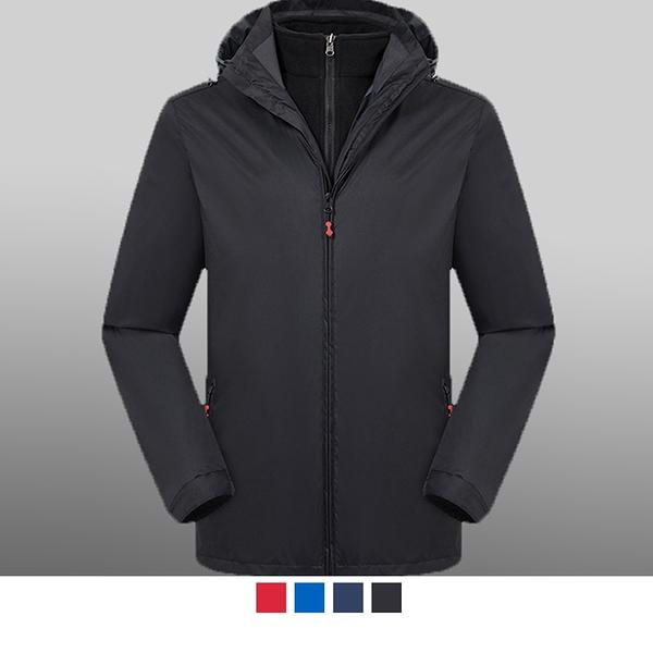 【晶輝團服制服】MF020*休閒二件式防風防潑水衝鋒外套(似GORE-TEX)可單買/ 代印公司LOGO
