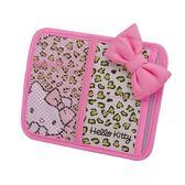 【震撼精品百貨】Hello Kitty 凱蒂貓~凱蒂貓 HELLO KITTY 車用收納袋(遮陽板式/粉色豹紋)